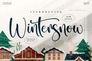 wintersnow-font