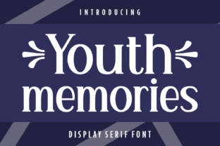 youth-memories-font