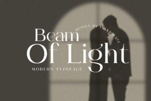 beam-of-light-font