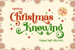 christmas-knowing-font