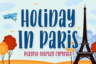 holiday-in-paris-font