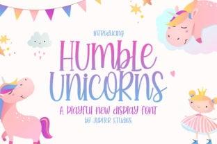 humble-unicorns-font