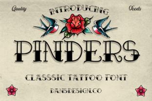 pinders-font