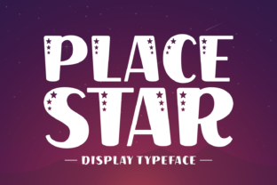 place-star-font