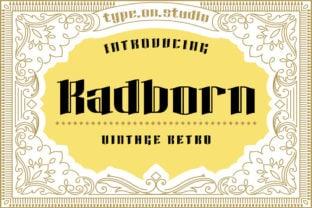 radborn-font