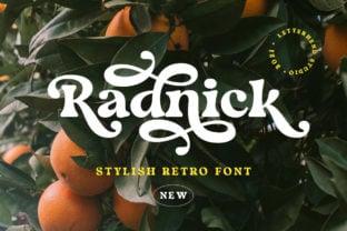 radnick-font