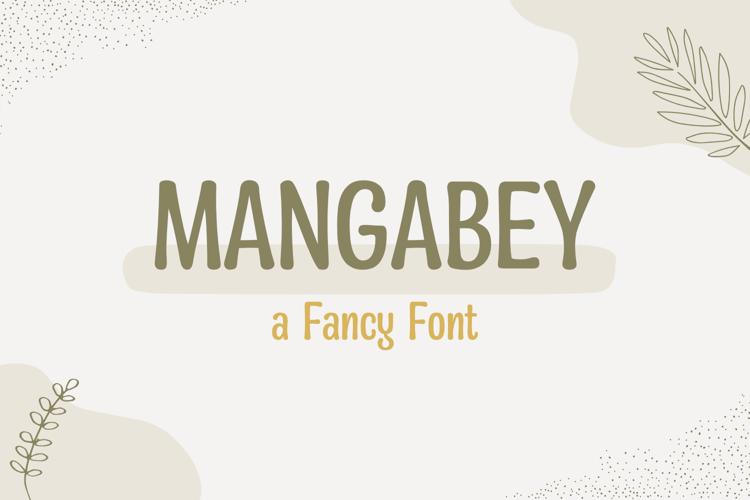 mangabey-font